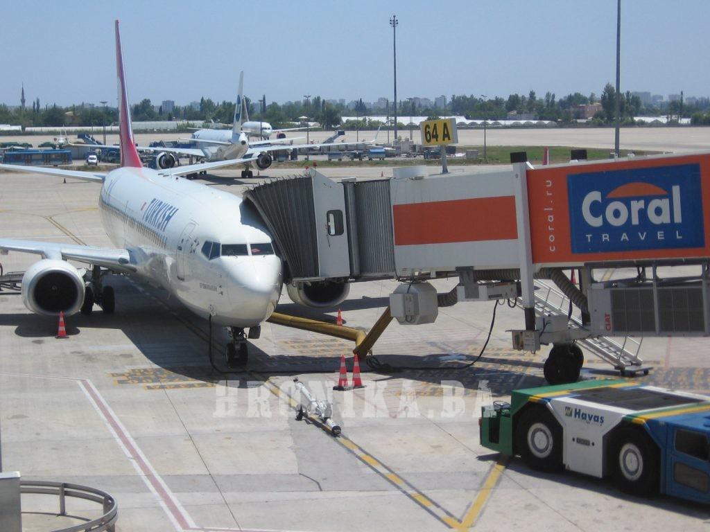Inauguralni let kompanije AnadoluJet iz Istanbula za Sarajevo