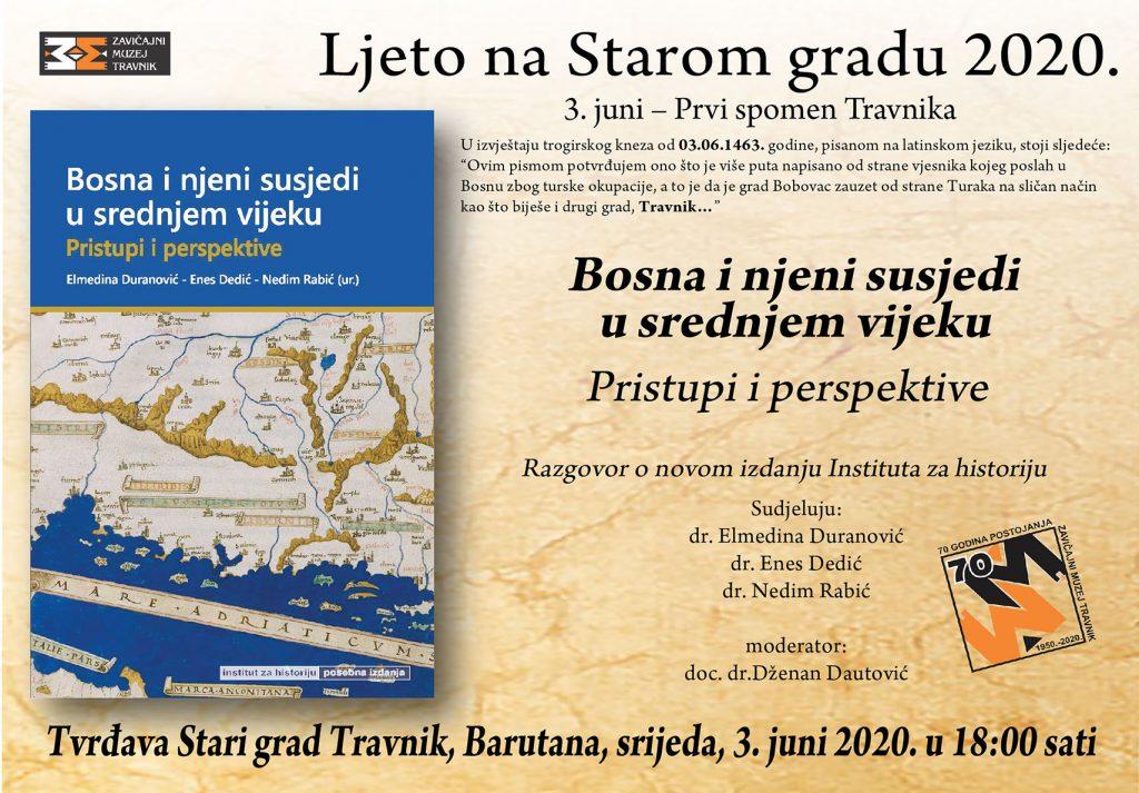 """Zavičajni muzej Travnik i ove godine organizira """"Ljeto na Starom gradu"""""""