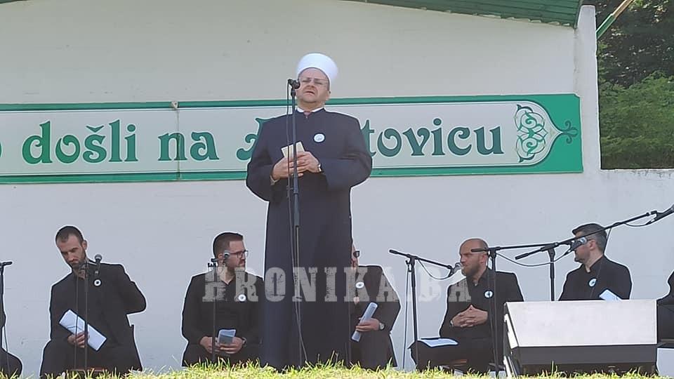 """Hiljade vjernika na završnom dijelu manifestacije """"Dani Ajvatovice"""" u Pruscu"""