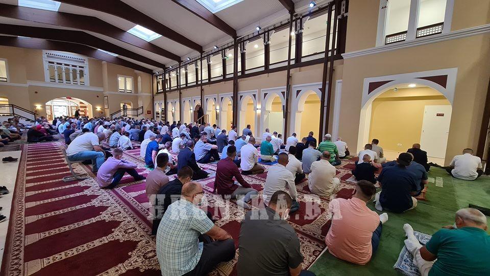Centralni bajram namaz za područje Travničkog muftijstva održan u Elči Ibrahim-pašinoj medresi u Travniku