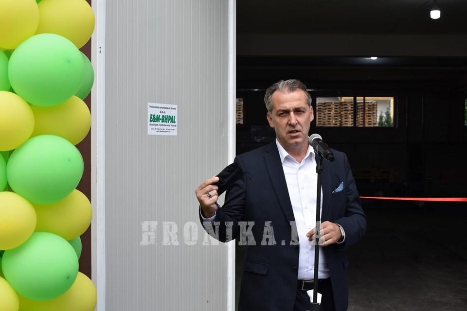 U Turbetu kod Travnika uprkos globalnoj krizi otvorena fabrika i nova radna mjesta