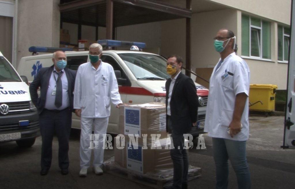 Evropska Unija donirala respiratore za dvije travničke bolnice