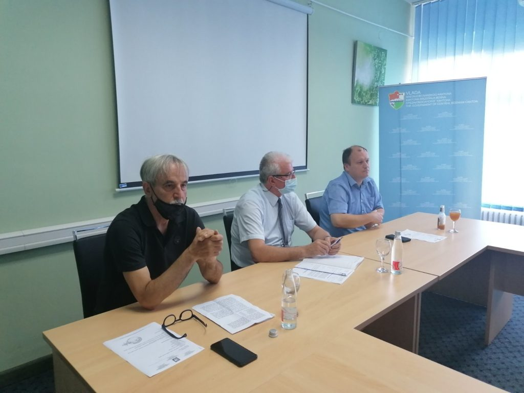 """Finansijska podrška Vlade SBK """"premijerligaškim"""" klubovima  iz srednje Bosne"""