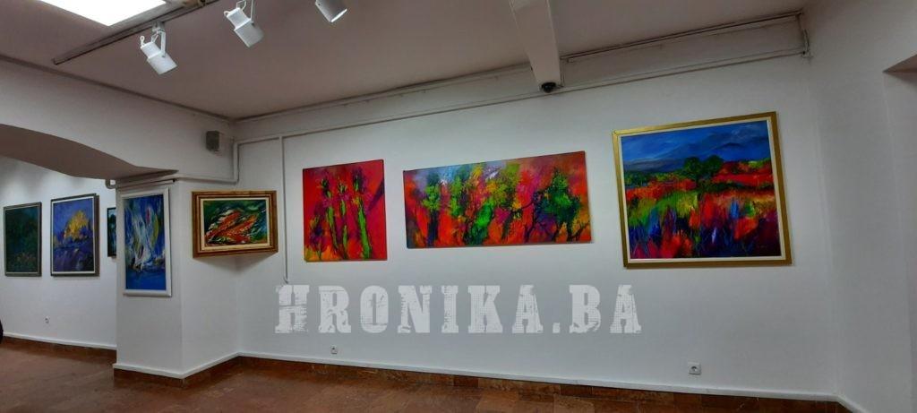 Večeras u Sarajevu otvorena izložba Hibe Mustafić