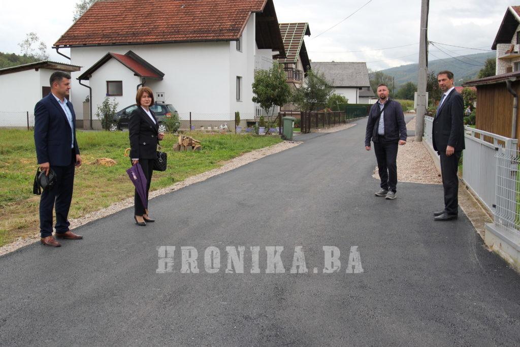 Sredstvima osiguranim iz F BiH i KSB/SBK  realizirani značajni infrastrukturni projekti na području općine Busovača