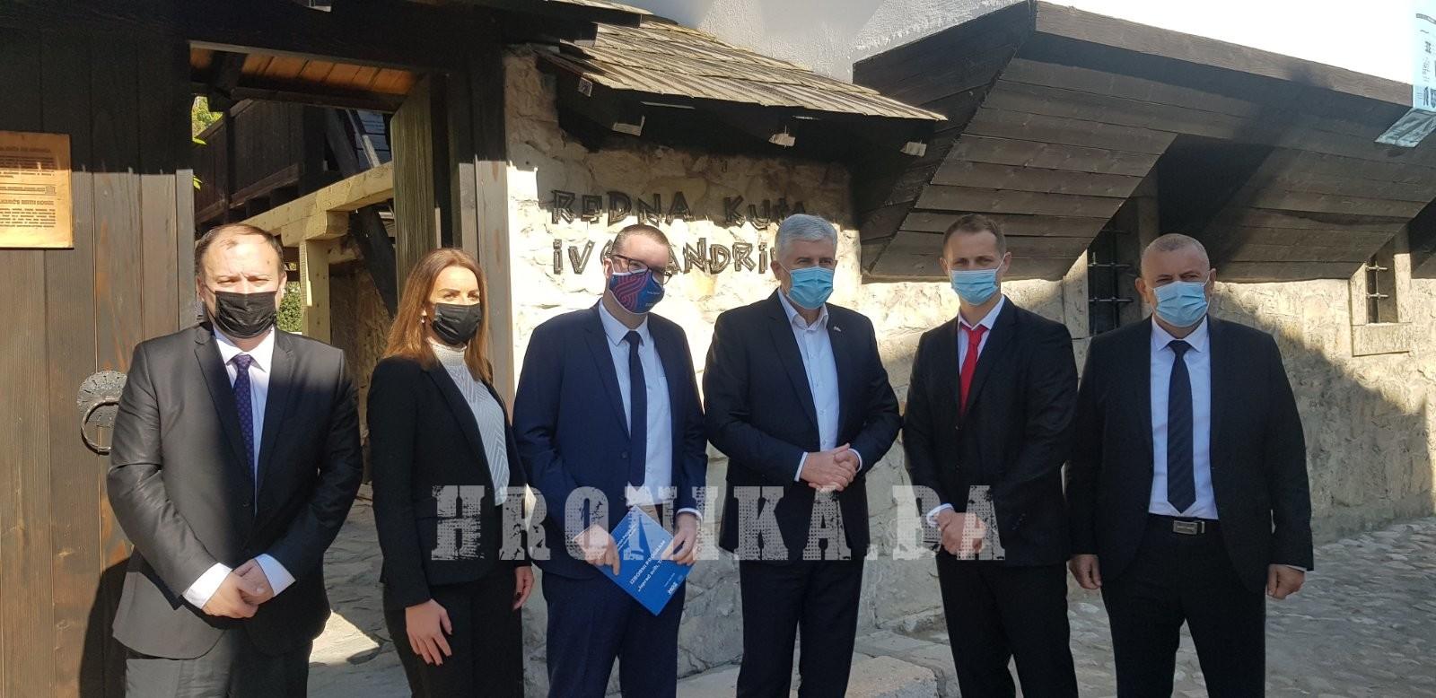Dragan Čović podržao kandidate travničkog HDZ BiH: Prezentirani ciljevi za bolji Travnik su ostvarivi
