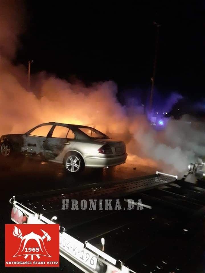 """Zapaljena vozila u Auto kući """"Cirko"""" vrijedna 100.000 maraka"""