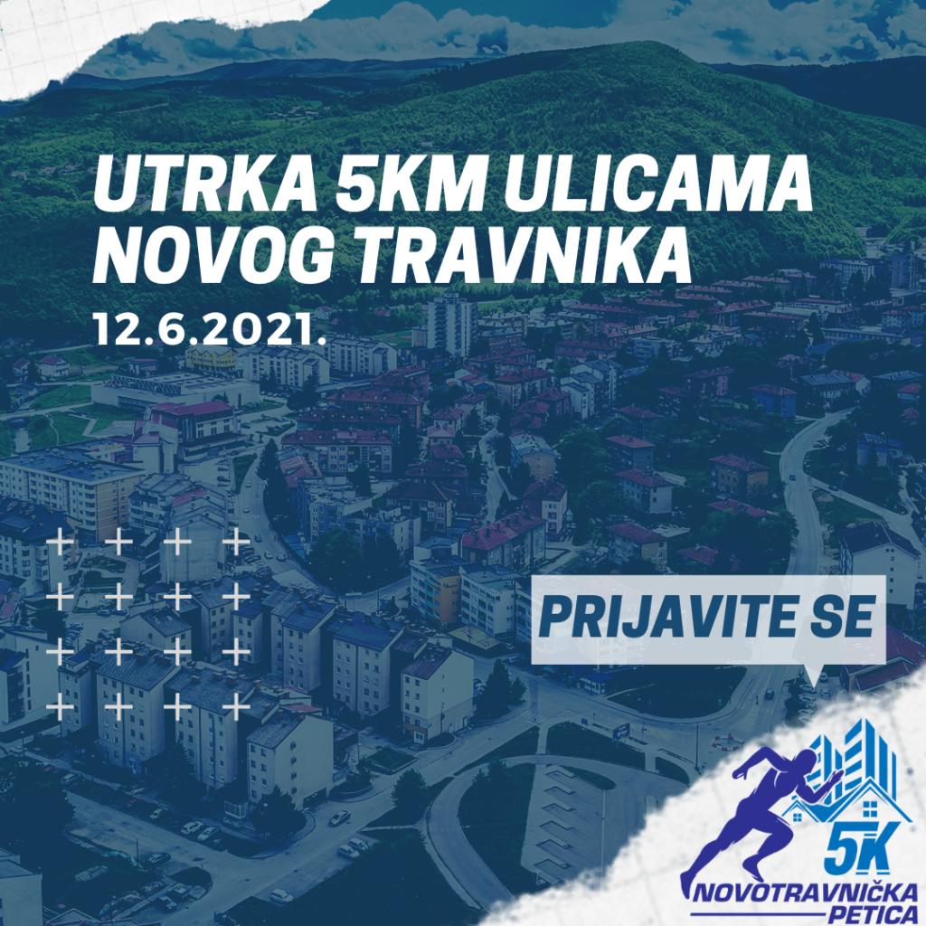 """""""Novotravnička petica"""" – Amaterska utrka ulicama Novog Travnika u dužini od 5 kilometara"""