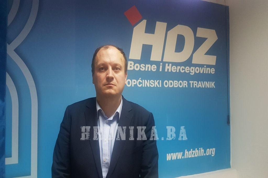 HDZ BIH će bojkotirati prijevremene izbore u Travniku, pravnu borbu će nastaviti na Ustavnom sudu BiH