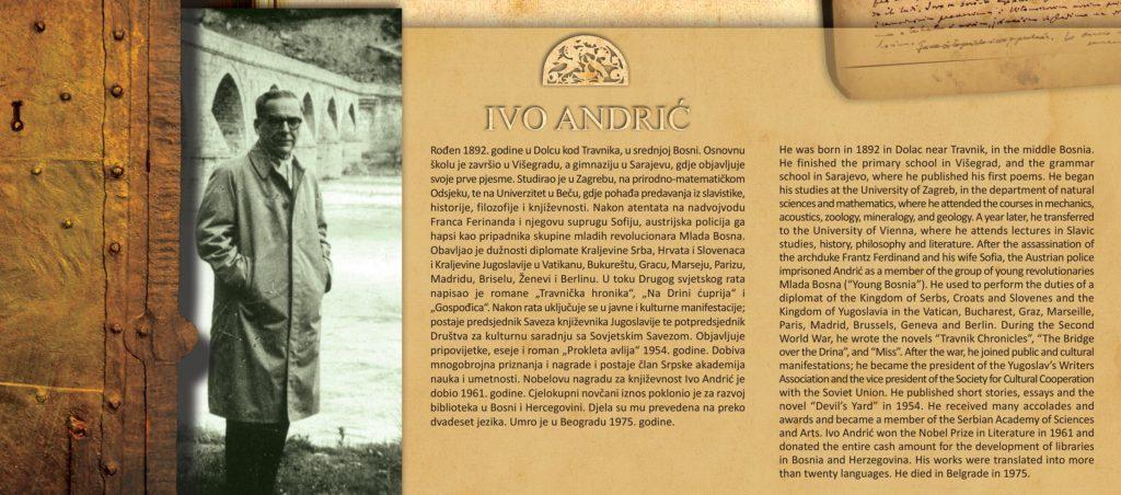 Na današnji dan prije 46 godina preminuo je nobelovac Ivo Andrić