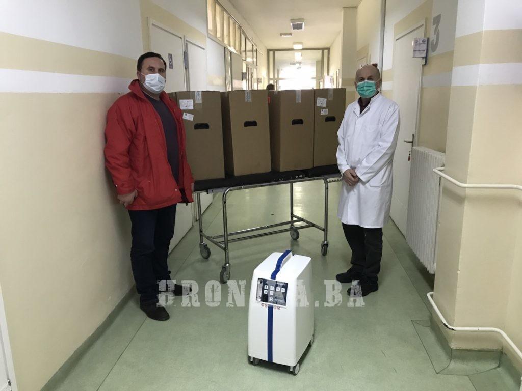 POMOZI.BA donirao aparate za kisik Kantonalnoj bolnici u Zenici