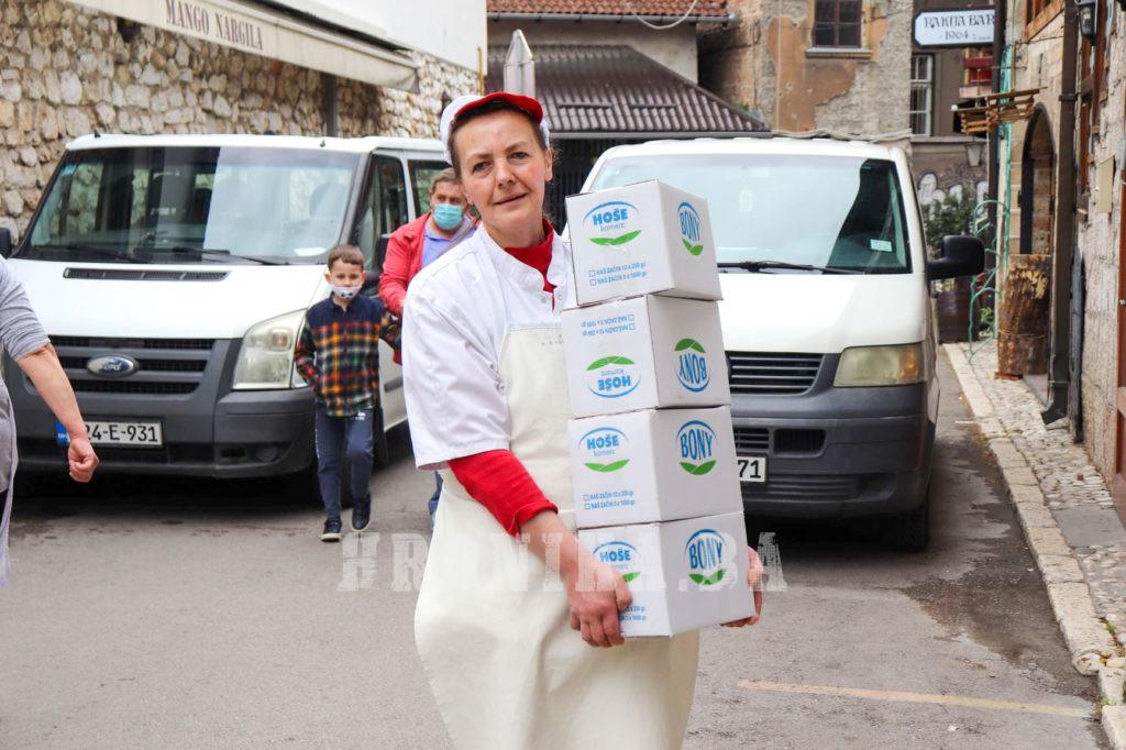 Hoše komerc obradovao postače Narodne kuhinje u Sarajevu