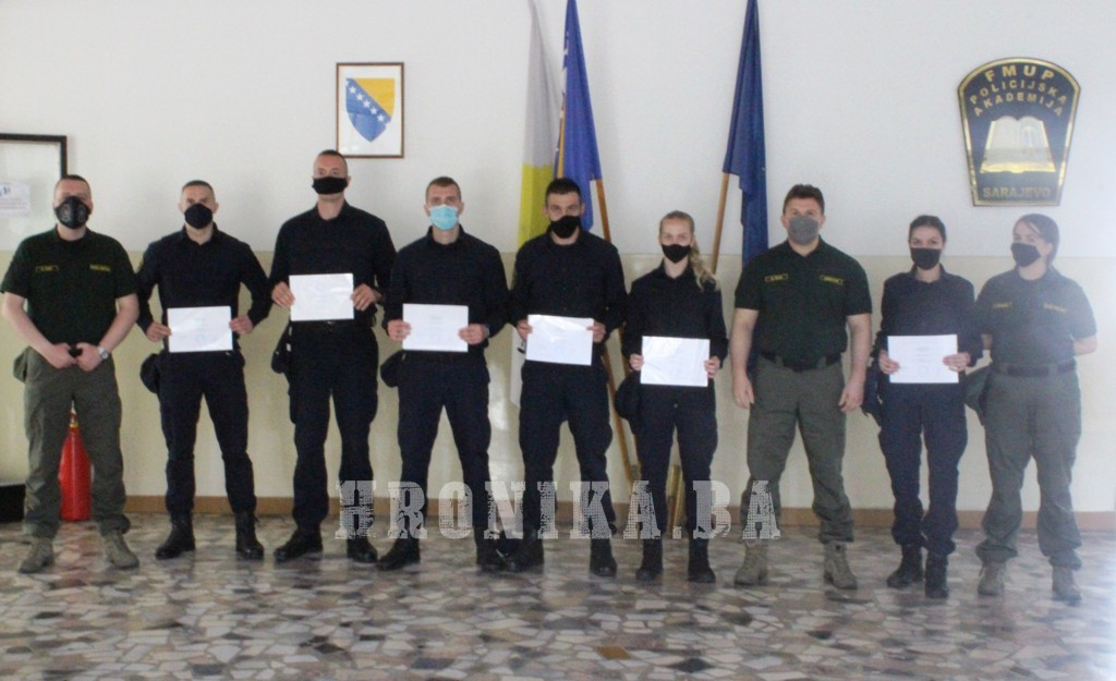 Promovisani mlađi inspektori iz MUP Srednjobosanskog kantona