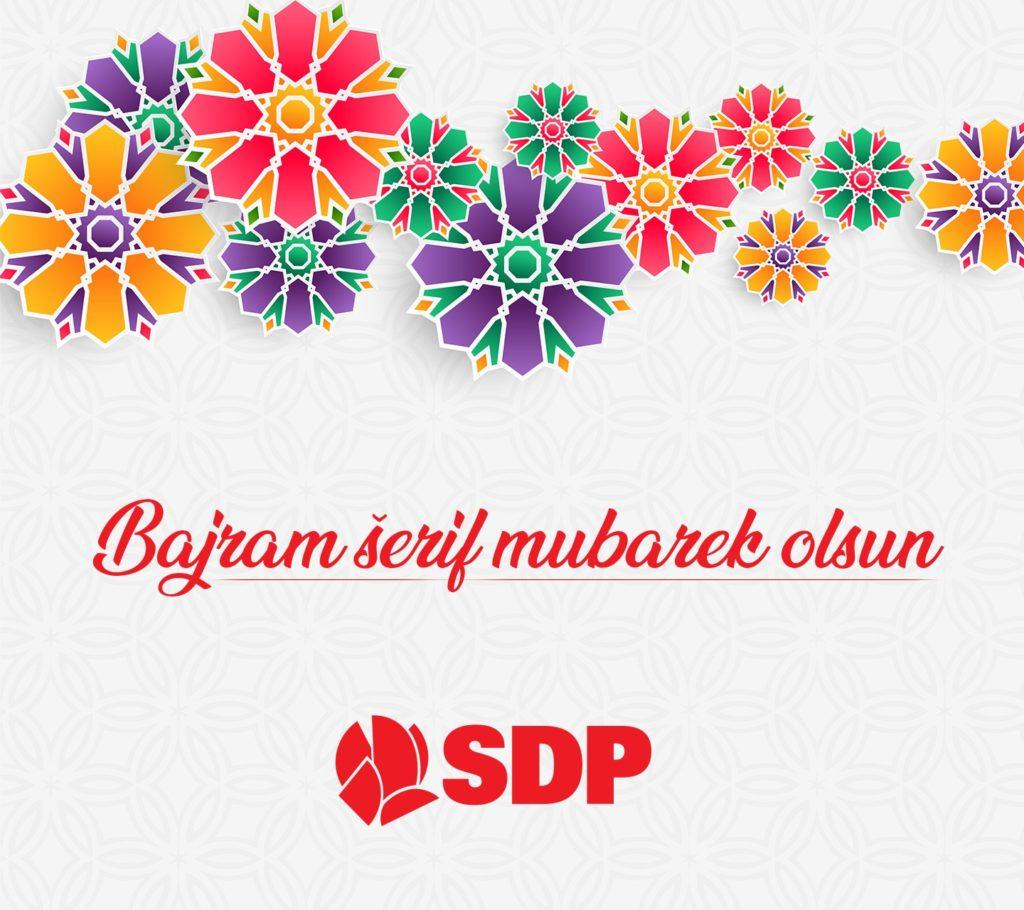 Bajramska čestitka Kantonalnog odbora SDP