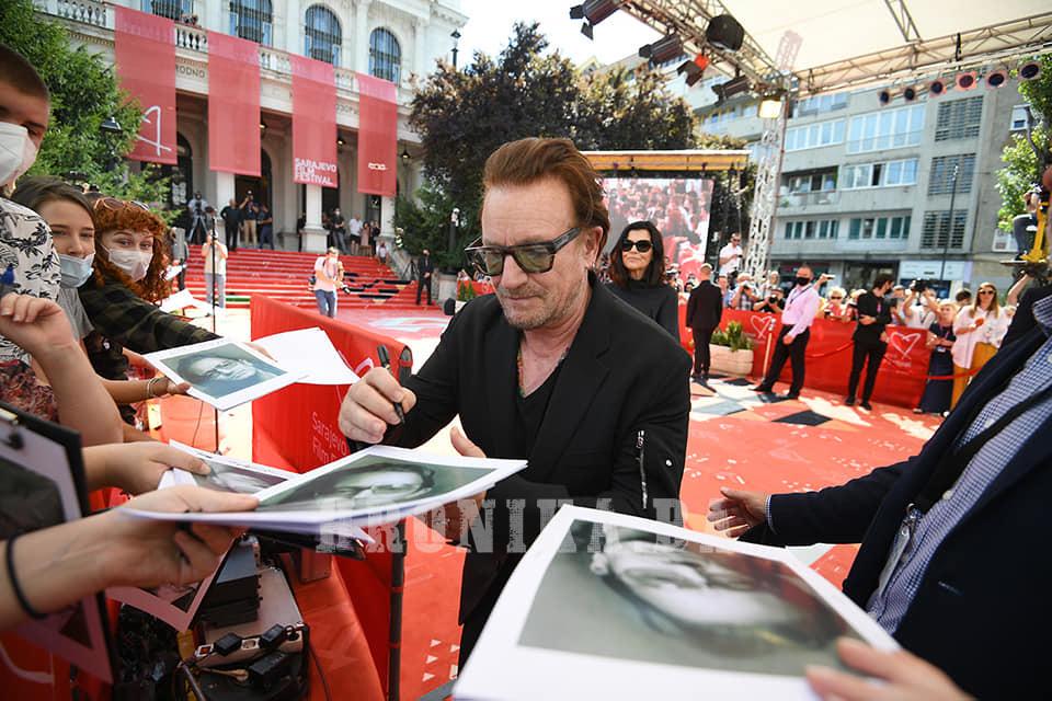 Bono Vox u Sarajevu: Volio bih da ljudi dođu ovdje i iskuse sve u ovom gradu
