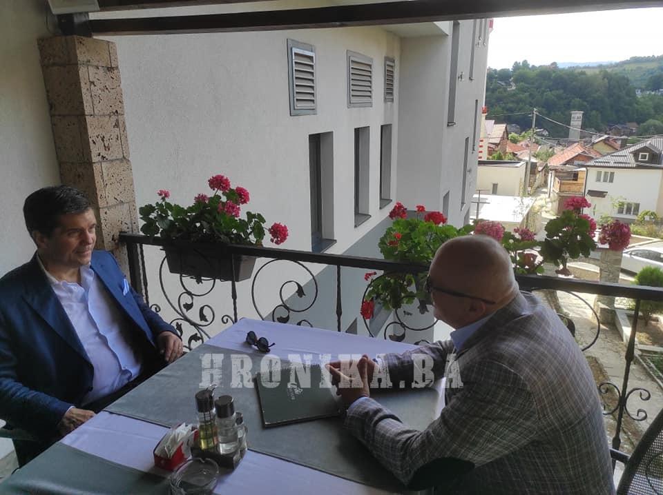 Ambasador Eric Nelson posjetio danas Travnik