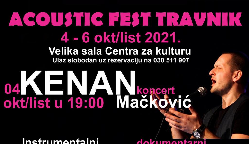 Od 4. do 6. oktobra 10. jubilarni Acoustic Fest Travnik (AFT)