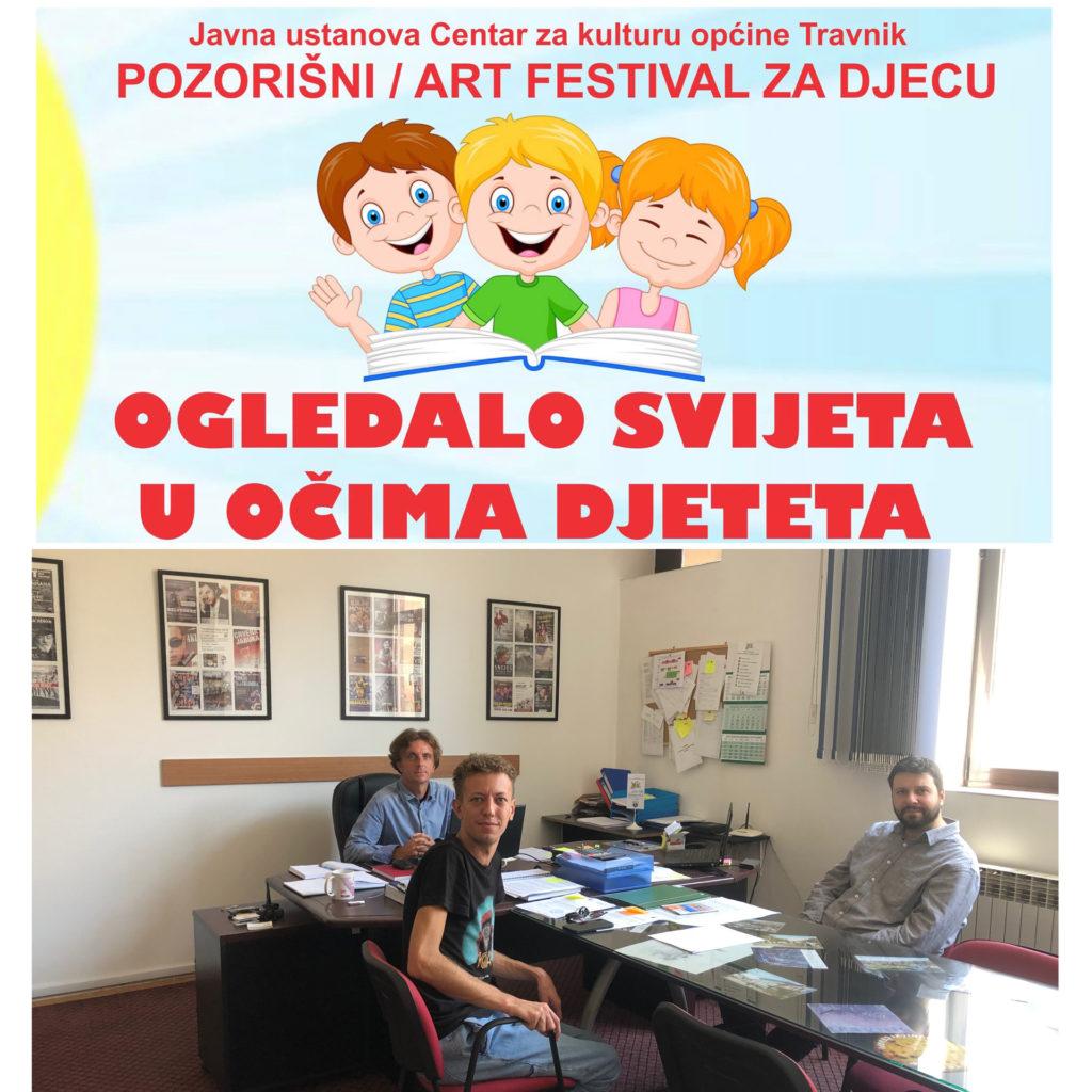 Priprema dječijih programa i festivala u Centru za kulturu Travnik