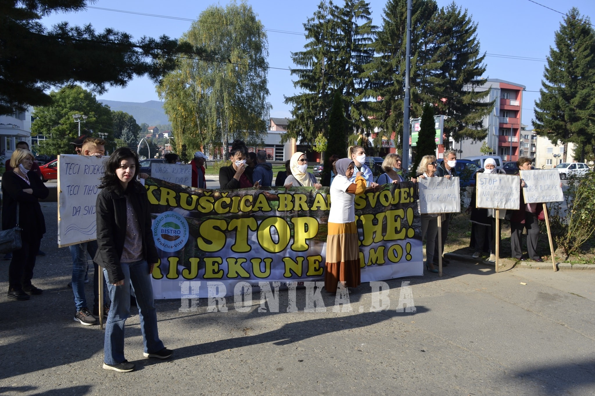 Žene Kruščice ponovile: Ne! izgradnji MHE na rijeci Kruščici